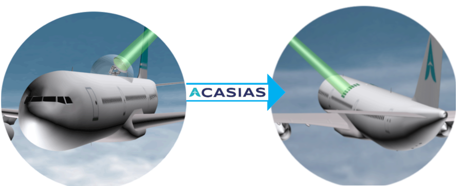 ACASIAS will suppress protuding antennas from planes